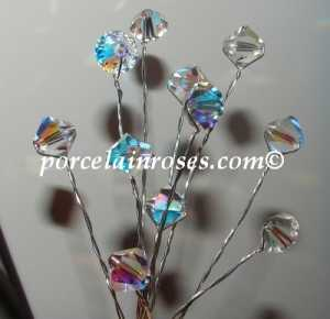 crystal bouquet stems