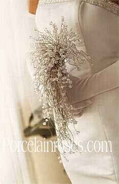 Crystal Cascade brides bouquet