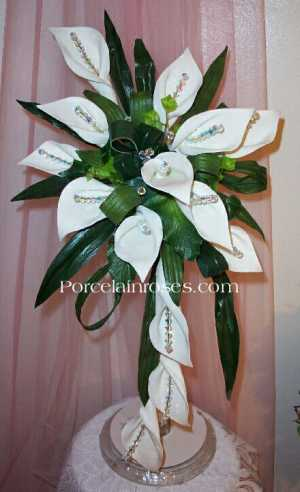 High Style Large Calla Lily Wedding Bouquet