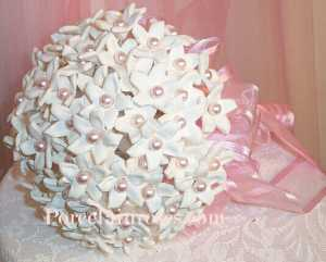 Wedding Bouquet with Pearl Embellished Stephanotis