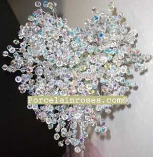 Crystal Heart Bouquet