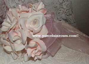Bridal White Reality Rose Bouquet